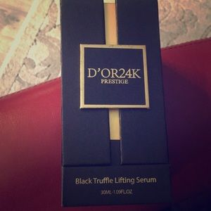 D'OR24K prestige black truffle lifting serum